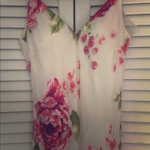 Floral silk Sue Wong Nocturne gown